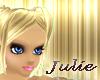 [J] Golden Blonde Bangs