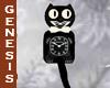 Ani Retro KittyCat Clock