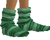 Green Stripe sock