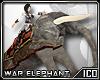 ICO War Elephant Grey F