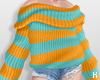 K|OversizeStripeSweater1