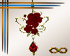 [CFD]Blood Rose Earrings