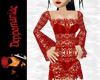 Dawn Crochet Dress RED