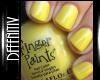 [DeF] Nails Yellow