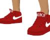RED & WHITE NIKES