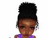 kids baby afro puff