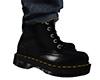 Black Lace Up Boots (M)