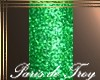 PdT Green Glitter Nails