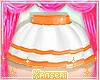 !* Orange Summer Skirt