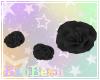 B| Leg Roses - Black