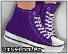 !V! Sneakers Purple