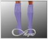 Lace Boots Lavender