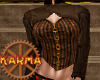 steampunk leather top