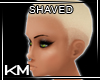 +KM+ Shaved Platinum