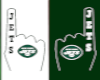 Jets Foam FInger