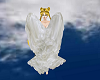 Serena cloaked in wings