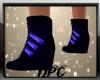 Boots Black Blue