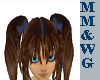 *MM* Pigtails blue bow