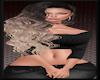 [EVE}RibbedSweater BLACK