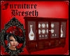 BS* Cherry China Cabinet