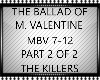 BALLAD OF M VALENTINE
