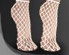 .Net. socks white