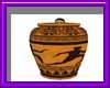 (sm) greek pose vase