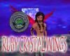 Ruby Crystal Wings