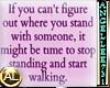 TIME TO start walking