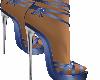 zapatos azul