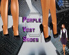 Purple Vest  Shoes