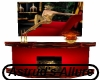 Red Fireplace