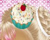 Cupcake Love Hair Pin