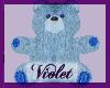 (V) baby blue bear