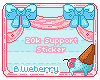20k Support Sticker