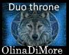 (OD) Diarose duo throne