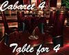 [M] Cabaret #4 Table x 4