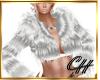 CH Silver Fur Jacket