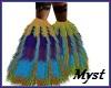 Peacock Monster Boots II
