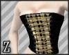 harlequin bust corset
