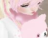 Pink Winter Neck Fur