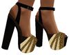"""Versace """"GoldenEgo"""" Heel"""