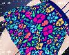 Summer Sexy Flora Skirt