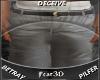 Denim Shorts grey~ 3D