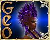 Geo Mohawk purple f