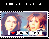 J Music Love Stamp