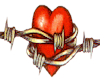 Barbed Heart line