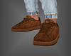 Leather Kicks Brown