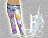 Belted Graffiti Jeans