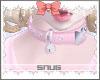 ♡ Pinku collar